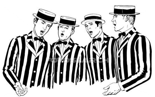 Barbershop Music : 167. In Four-Part Harmony Going on 80